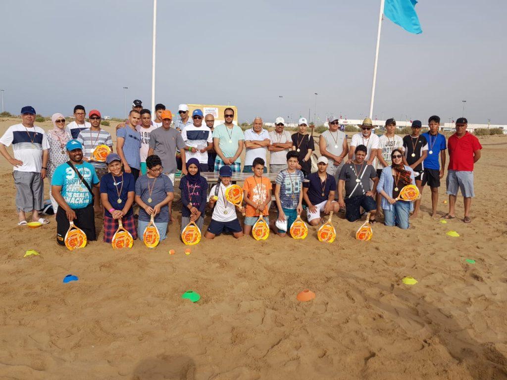 Résultats du tournoi de Beach Tennis Saidia