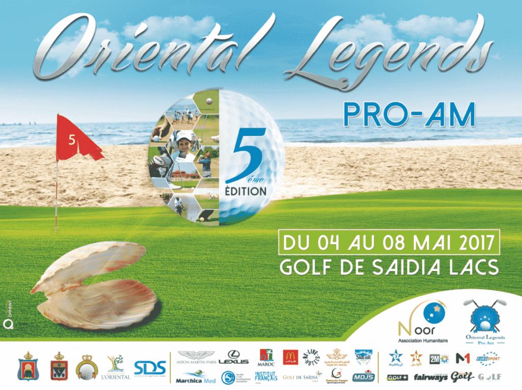 L'Oriental Legends Pro-AM s'invite à Saïdia pour une nouvelle édition