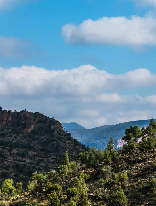 The Beni Snassen Mountains
