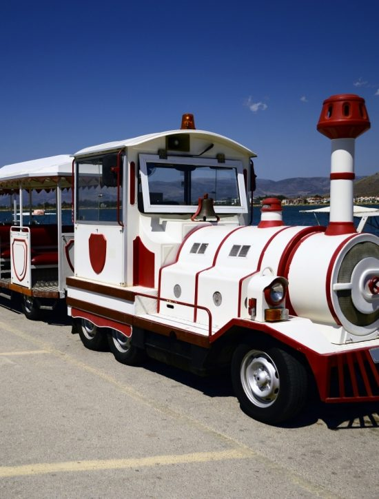 Little tourist train