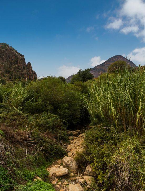 Les gorges et la vallée du Zegzel